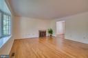 Living Room - 2918 GLENVALE DR, FAIRFAX