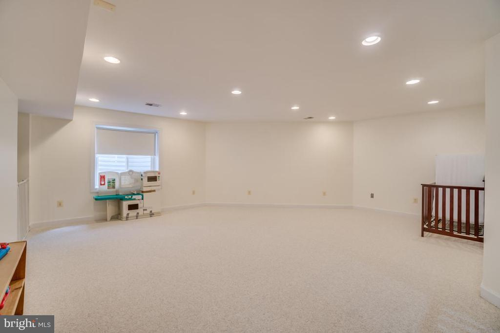 Lower Level Recreation Room - 2918 GLENVALE DR, FAIRFAX