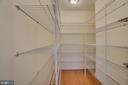 Large walk in kitchen pantry - 2918 GLENVALE DR, FAIRFAX