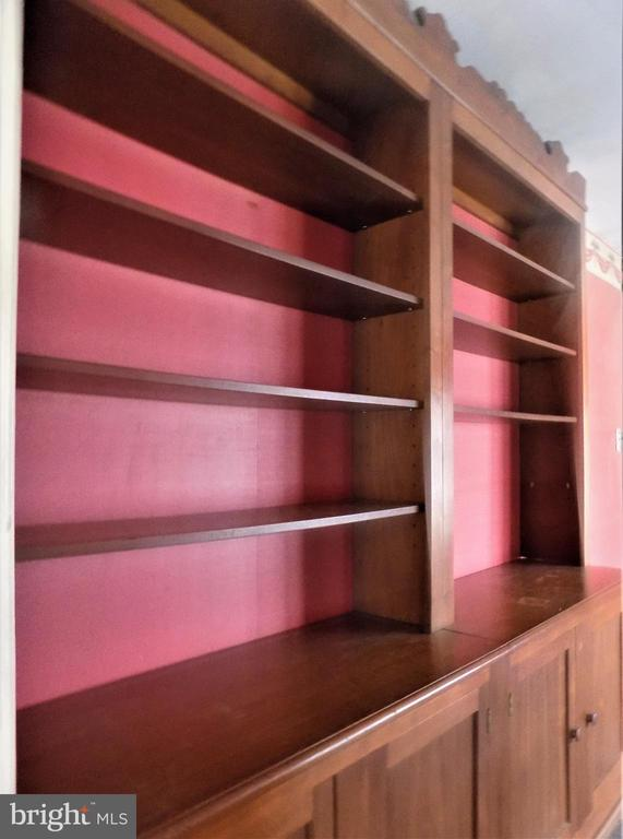 7 Foot Wide Built-In Hutch/Bookcase at Library - 6321 OLD CENTREVILLE RD, CENTREVILLE