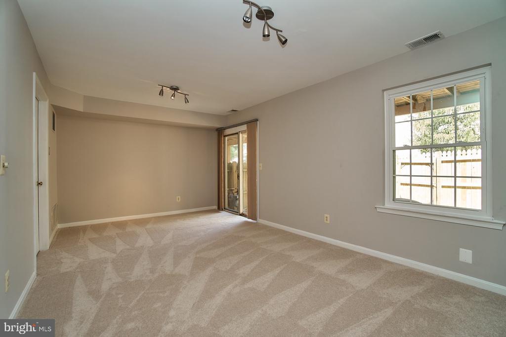 Lower Level Recreation Room - 12320 SLEEPY LAKE CT, FAIRFAX