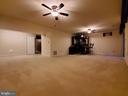 Large basement entertainment area with egress. - 4152 AGENCY LOOP, TRIANGLE