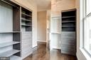 Master Closet with Built in cabinets - 38042 GREENWOOD FARM LN, PURCELLVILLE