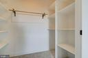 Huge upper level closet - 38042 GREENWOOD FARM LN, PURCELLVILLE