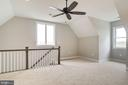 Upper Level Suite has it's own back stair - 38042 GREENWOOD FARM LN, PURCELLVILLE