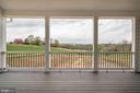 View from Master Bedroom Porch - 38042 GREENWOOD FARM LN, PURCELLVILLE