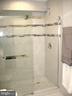 Beautiful updated bath downstairs.... - 8643 WOODWARD AVE, ALEXANDRIA