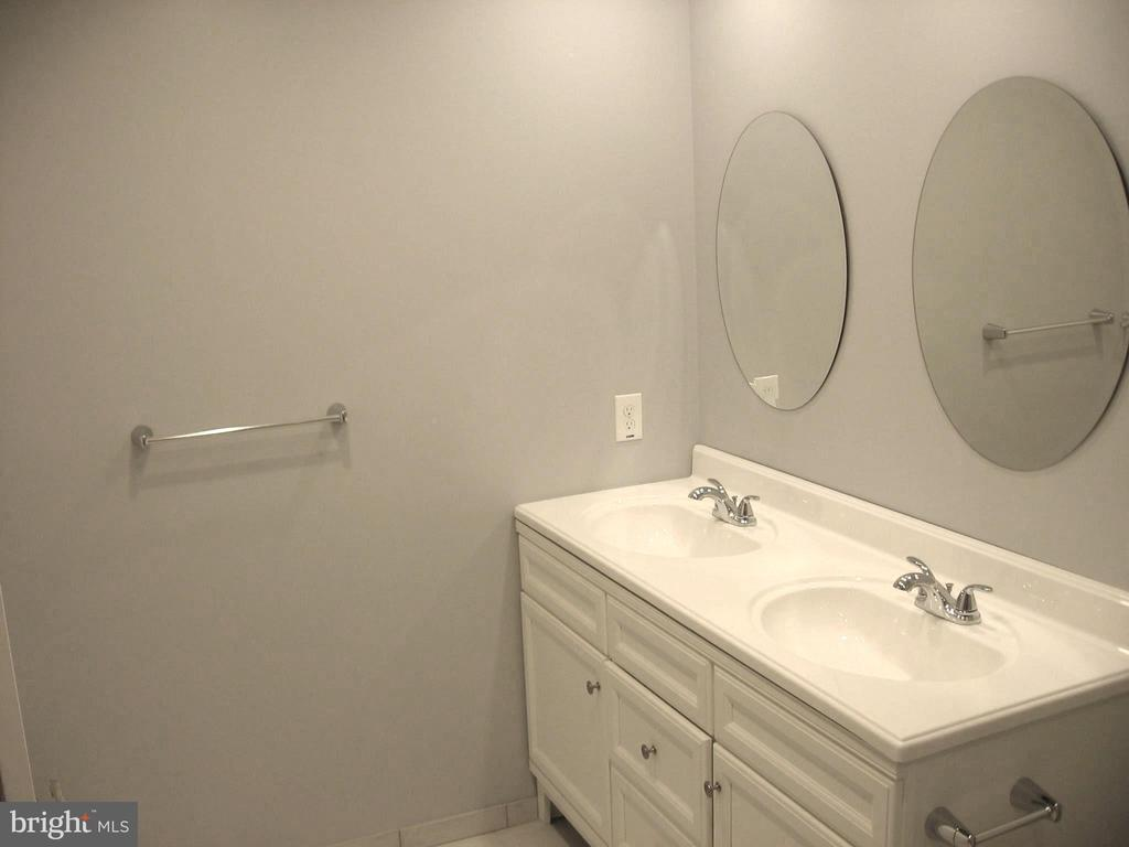 ... with double sink vanity - 8643 WOODWARD AVE, ALEXANDRIA