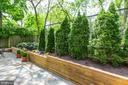 Lush landscaping - 300 N VIEW TER, ALEXANDRIA