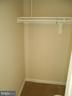 Master Bedroom Closet - 1405 KEY PKWY #101, FREDERICK