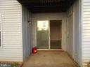 Patio off Living Room - 1405 KEY PKWY #101, FREDERICK