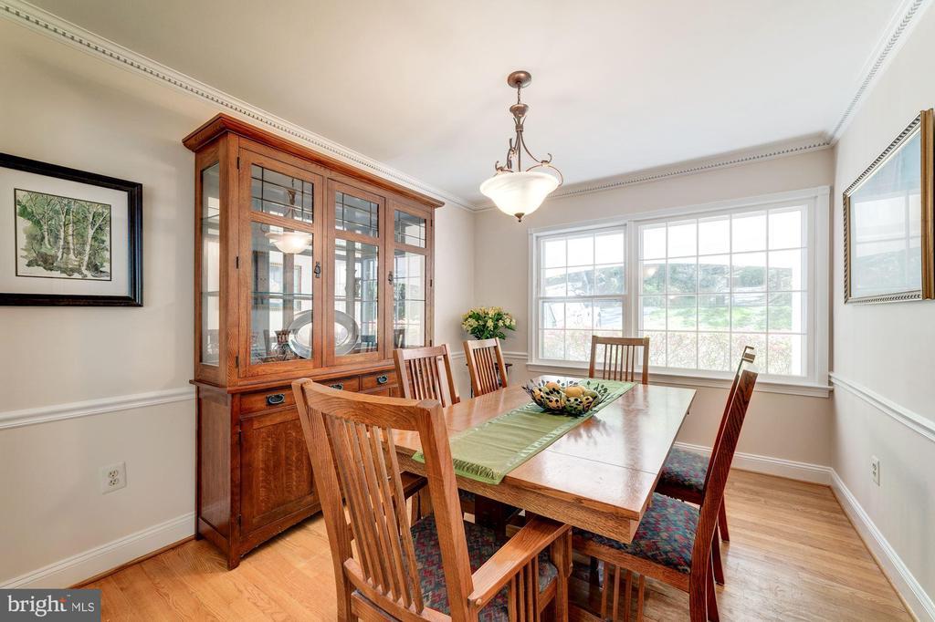 Dining Room - 11310 MYRTLE LN, RESTON