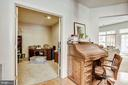 Office w/ double doors for privacy - 23228 WASHBURN TER, BRAMBLETON
