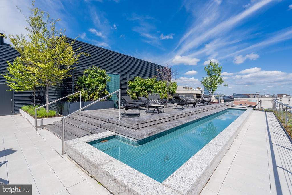 Roofdeck - 920 I ST NW #609, WASHINGTON