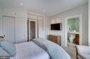 Fourth Bedroom with En Suite Bath - 3150 SOUTH ST NW #PH1D, WASHINGTON
