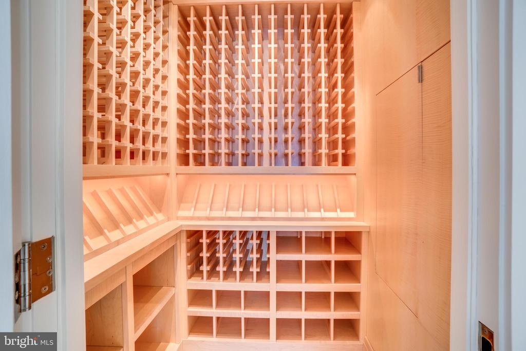 Temperature Controlled Wine Room - 3150 SOUTH ST NW #PH1D, WASHINGTON