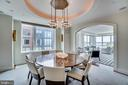 Formal Dining Room - 3150 SOUTH ST NW #PH1D, WASHINGTON