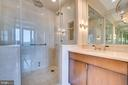 Separate Shower in Master Bath - 3150 SOUTH ST NW #PH1D, WASHINGTON