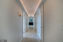 Hallway to Master Suite - 3150 SOUTH ST NW #PH1D, WASHINGTON