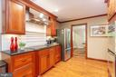 An abundance of cabinet and counter space - 11905 CHAPEL RD, CLIFTON