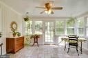View 3 Sunroom - bright and airy - 6036 OLD TELEGRAPH RD, ALEXANDRIA