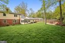 Rear Yard with Patio - 6036 OLD TELEGRAPH RD, ALEXANDRIA