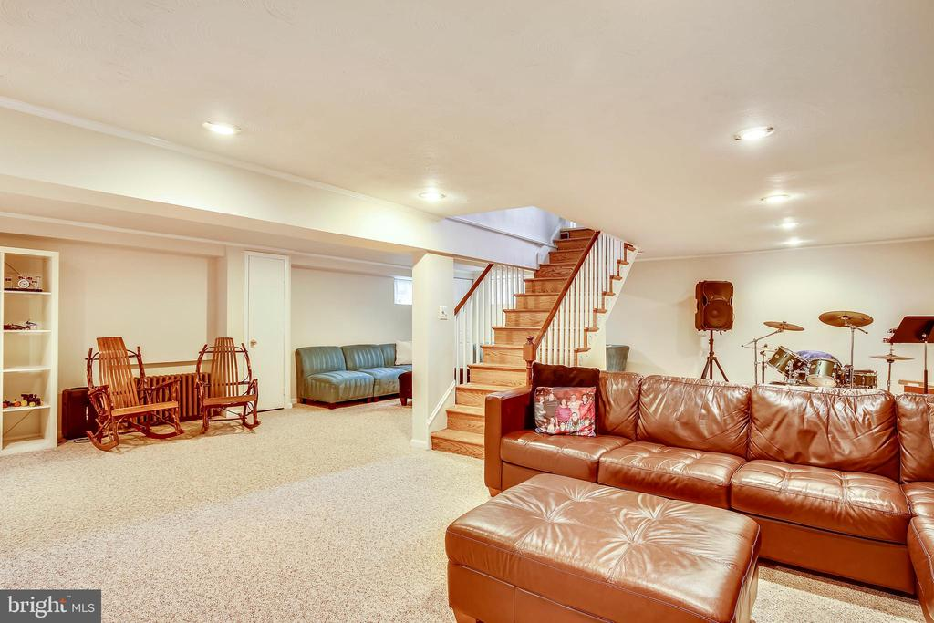Lower Level Large Rec Room - 6036 OLD TELEGRAPH RD, ALEXANDRIA