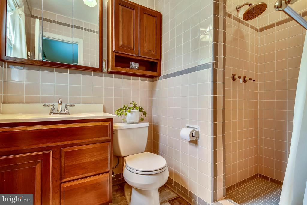 Main Level Bath with Shower - 6036 OLD TELEGRAPH RD, ALEXANDRIA