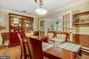 Dining Room French Doors to Sunroom - 6036 OLD TELEGRAPH RD, ALEXANDRIA