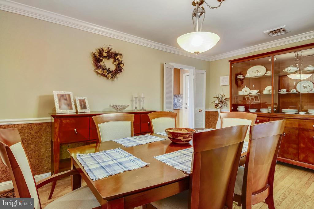 Dining Room - 6036 OLD TELEGRAPH RD, ALEXANDRIA