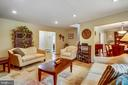 Living Room showing access to Dining - 6036 OLD TELEGRAPH RD, ALEXANDRIA