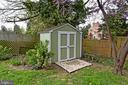 Sweet little shed - 2446 N JEFFERSON ST, ARLINGTON