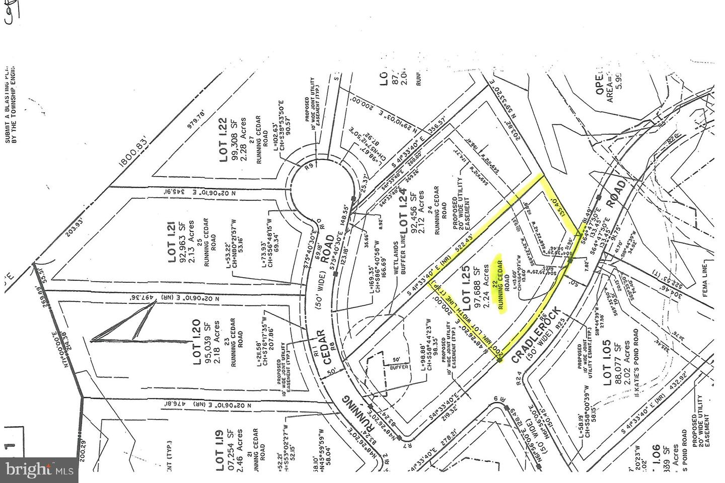 Land for Sale at 22 RUNNING CEDAR Road Princeton, New Jersey 08540 United StatesMunicipality: Princeton