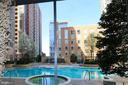 Private pool for Midtown's residents - 11990 MARKET ST #1403, RESTON