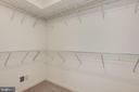 Walk-in Closet - 131 TOLOCKA TER NE, LEESBURG