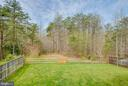 Fenced in backyard, privacy, great view of woods, - 51 FOUNTAIN DR, STAFFORD