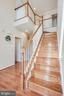 Hardwood floors on staircase - 51 FOUNTAIN DR, STAFFORD
