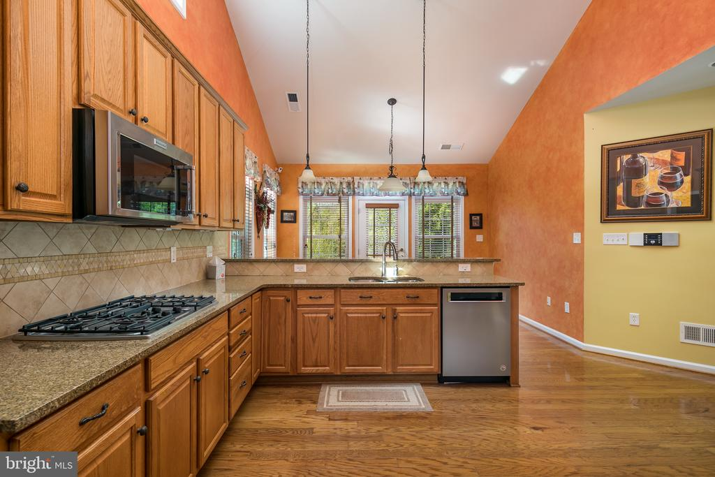 Cathedral Ceiling and Custom Lighting - 20579 CRESCENT POINTE PL, ASHBURN