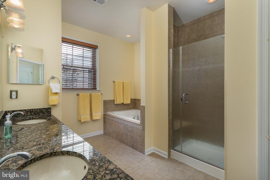 Master Bath with Separate Tub and Shower - 20579 CRESCENT POINTE PL, ASHBURN
