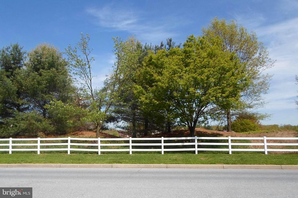View across the street - 1206 LOCKSLEY LN, MOUNT AIRY
