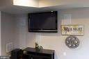 Basement Media Room w In-Wall & Ceiling  Speakers - 43168 ALEX ST, LEESBURG