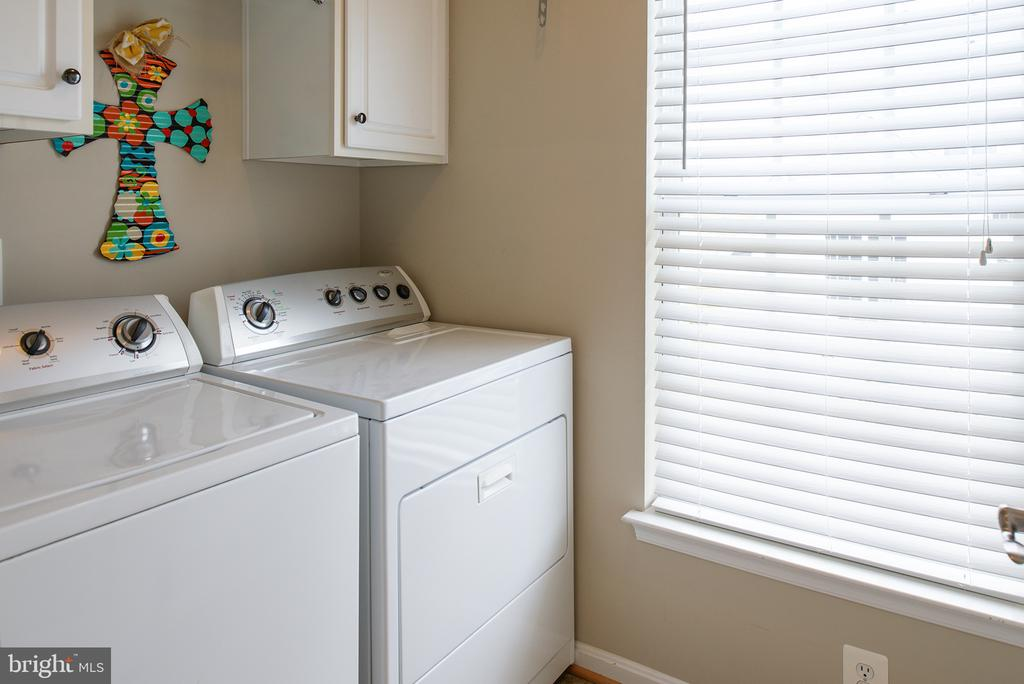 Upstairs Laundry Room , Storage Cabinets - 43168 ALEX ST, LEESBURG