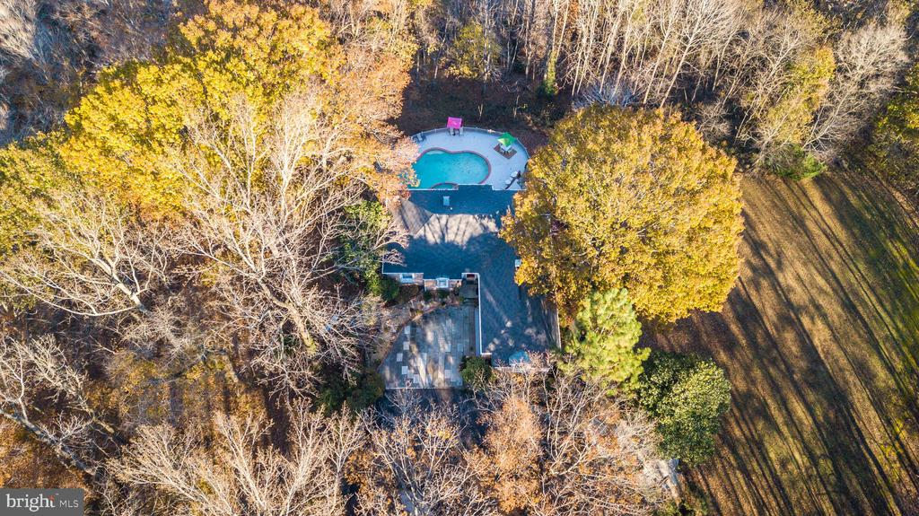 private wooded lot - 6103 RIVER RD, FREDERICKSBURG