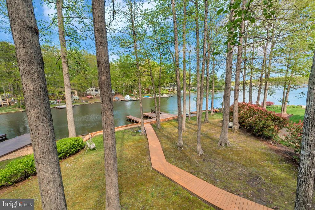 View from Upper Level Deck - 215 WAKEFIELD DR, LOCUST GROVE
