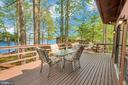 Upper Level Deck - So much room - 215 WAKEFIELD DR, LOCUST GROVE
