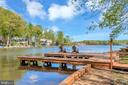 How is this for relaxing  - Private Dock - 215 WAKEFIELD DR, LOCUST GROVE