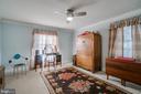 bedroom space - 6103 RIVER RD, FREDERICKSBURG