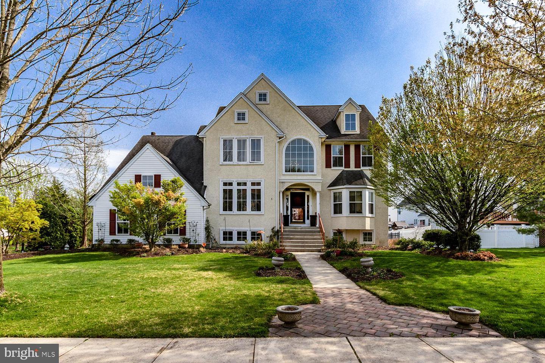 Maison unifamiliale pour l Vente à 3 EMERSON Drive Cinnaminson, New Jersey 08077 États-Unis