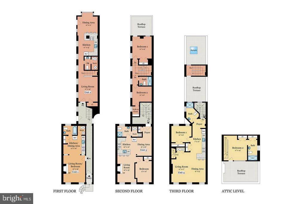 Conversion to Condominium Rendering - 508 PRINCE ST, ALEXANDRIA