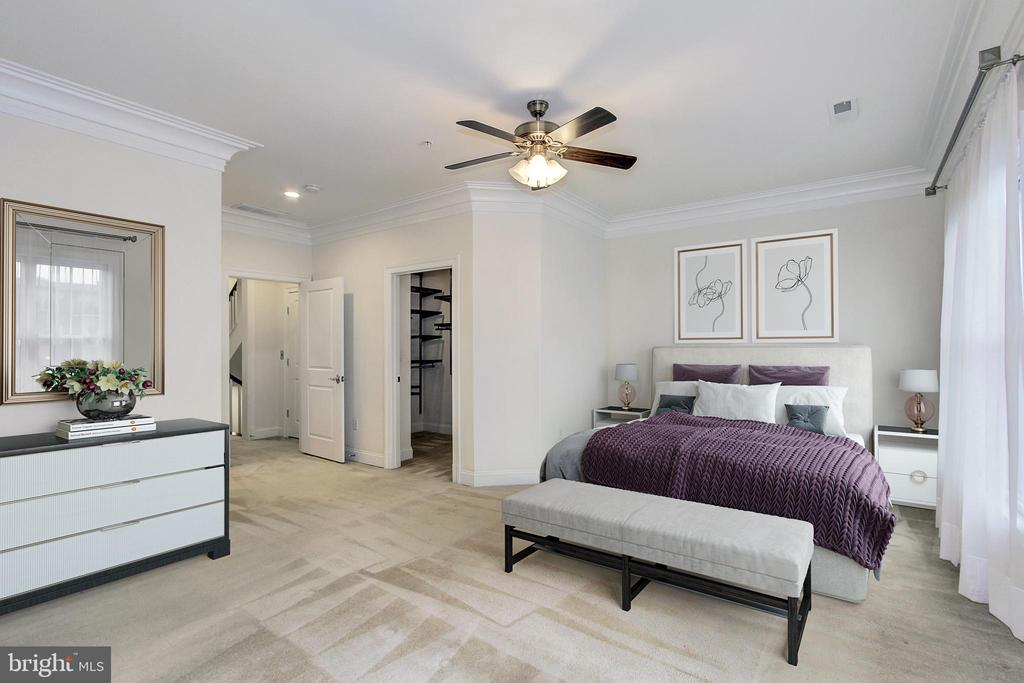 Master Bedroom - 5124 STRATHMORE AVE, NORTH BETHESDA